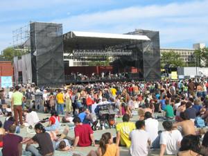 Summer concert photo