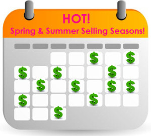 Spring & summer selling season