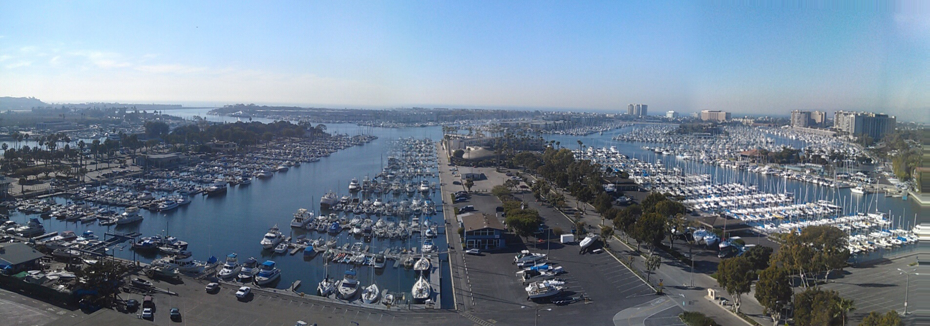 Marina del Rey Real Estate and boat harbor