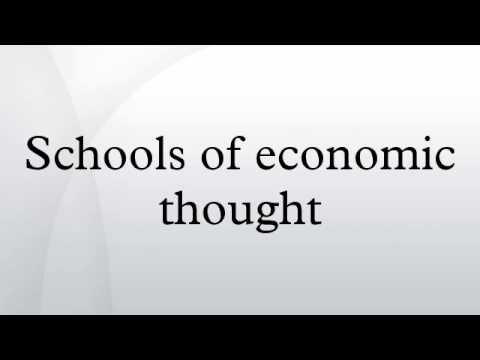 schools of economic thought 15-5-15
