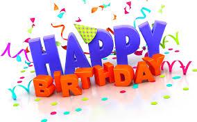 Happy Birthday - SL 1 June