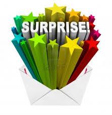 surprise 1 June 2016
