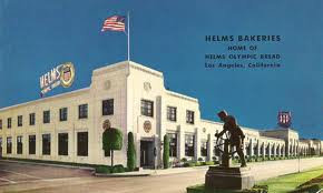 helsm bakery with statue