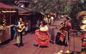 olvivera street - dancing & musicians