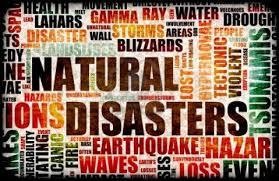 Natural disasters - SL-1 June