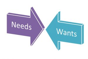 wants & needs 5-1-16