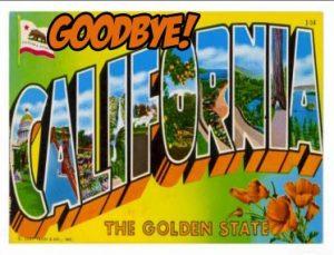 California to texas 1 June 2016