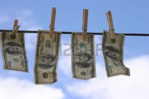 laundered money 1 August