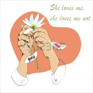 she loves me she loves me not 1 Aug